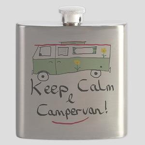 Keep Calm Campervan Flask
