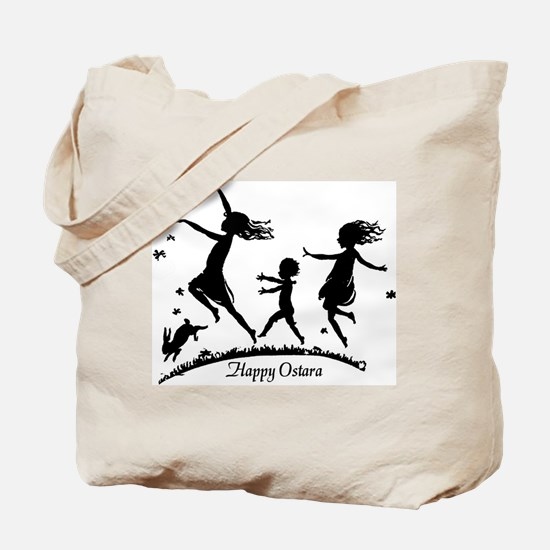 Happy Ostara Dance Tote Bag