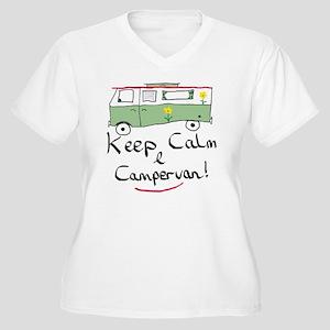 Keep Calm Campervan Plus Size T-Shirt