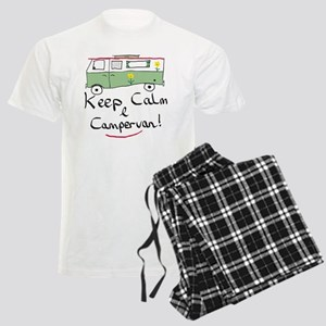 Keep Calm Campervan Men's Light Pajamas