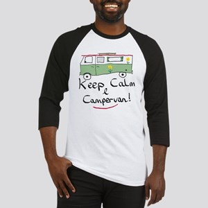 Keep Calm Campervan Baseball Jersey