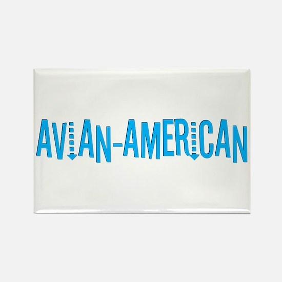 Avian American Rectangle Magnet
