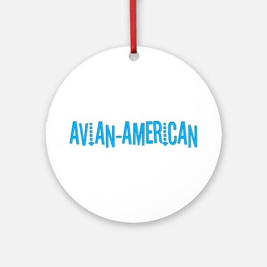 Avian American Ornament (Round)