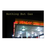 Nothing But Gas Postcards