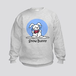 Snow Bunny Kids Sweatshirt