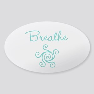 Breathe Sticker (Oval)