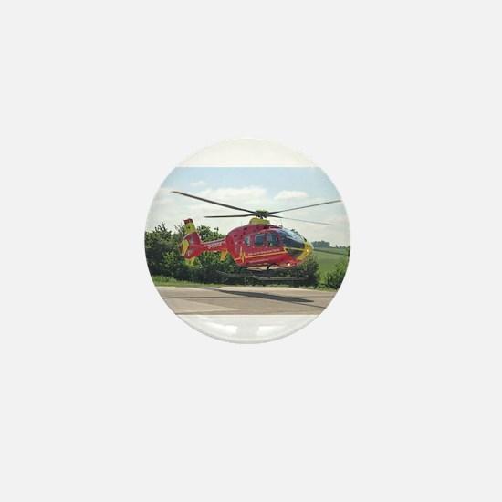 AIR AMBULANCE RESCUE Mini Button