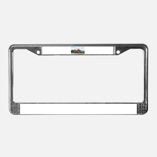AIR AMBULANCE RESCUE License Plate Frame