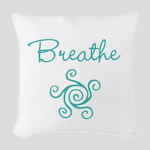 Breathe Woven Throw Pillow