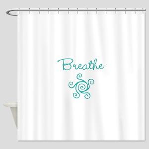 Breathe Shower Curtain