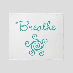 Breathe Throw Blanket