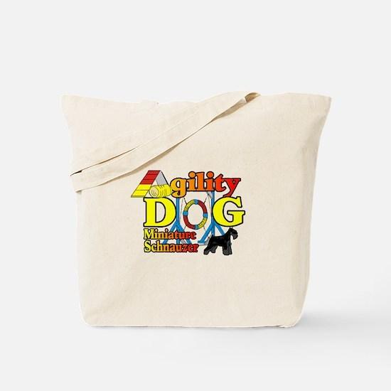 Mini Schnauzer Agility Tote Bag