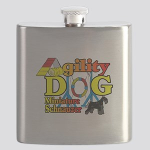 Mini Schnauzer Agility Flask