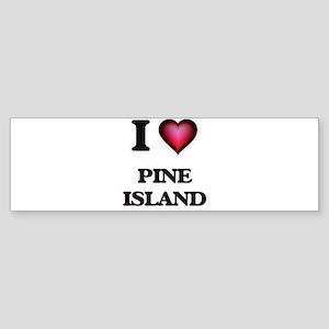 I love Pine Island Florida Bumper Sticker