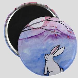 Moon Bunny Magnets