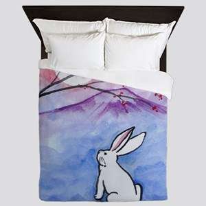 Moon Bunny Queen Duvet