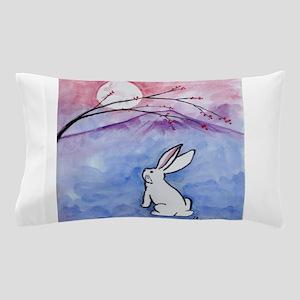 Moon Bunny Pillow Case
