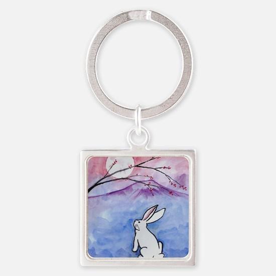 Moon Bunny Keychains
