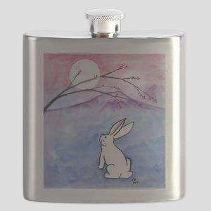 Moon Bunny Flask