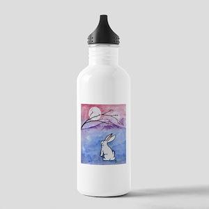 Moon Bunny Water Bottle