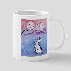 Moon Bunny Mugs