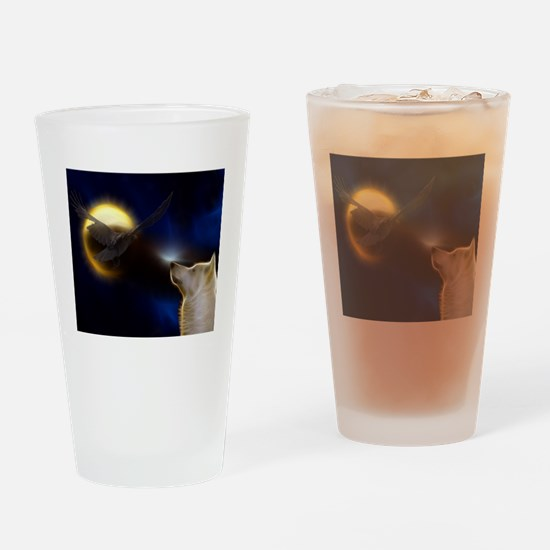 Shamanic Journey Drinking Glass