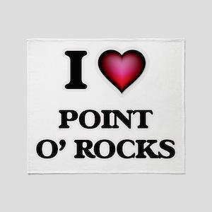 I love Point O' Rocks Florida Throw Blanket
