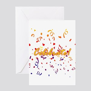 New house congratulations greeting cards cafepress celebrate confetti greeting cards m4hsunfo