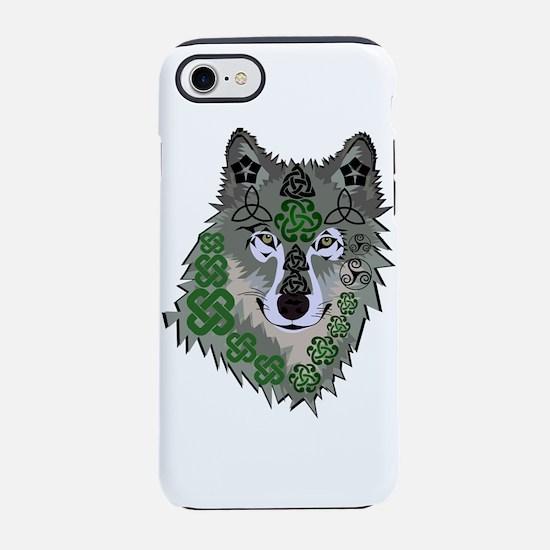 Cute Celtic art iPhone 8/7 Tough Case