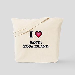 I love Santa Rosa Island Florida Tote Bag