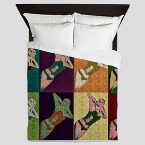 Pop Art Design Queen Duvet