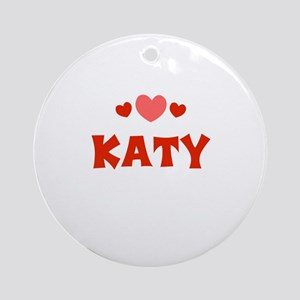 Katy Ornament (Round)