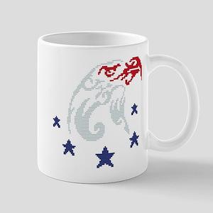 Patriotic Eagle Mug Mugs