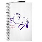Journal for Horse Lovin' Notes