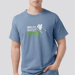 World Okayest Golfer T Shirt T-Shirt