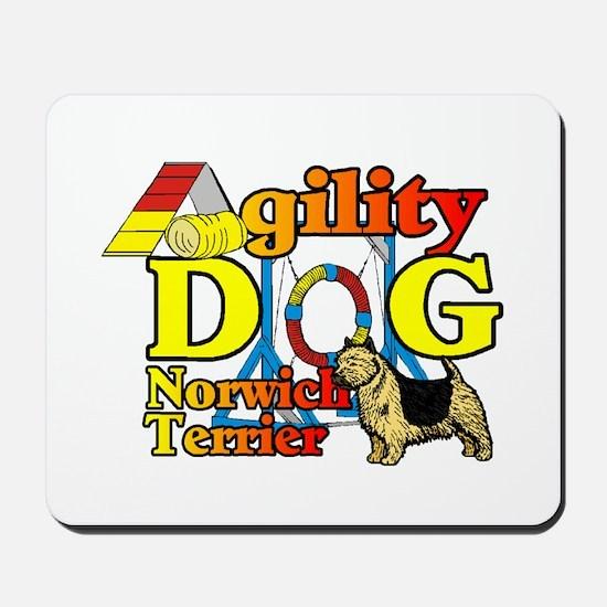 Norwich Terrier Agility Mousepad