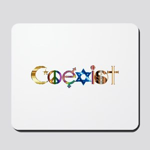 Coexist Mousepad