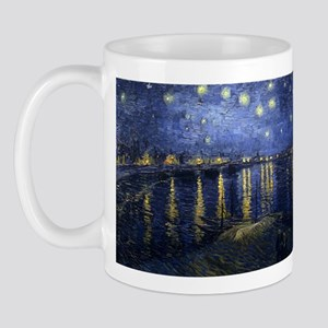 Starry_Night_Over_the_Rhone Mugs