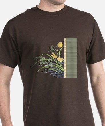 Dragonfly in Rice Field T-Shirt