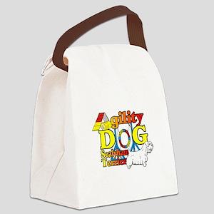 Sealyham Agility Canvas Lunch Bag