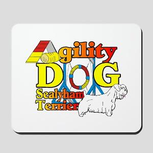 Sealyham Agility Mousepad