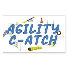 C-ATCH Rectangle Sticker