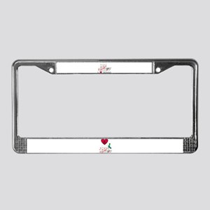BINGO ON BOTH SIDES License Plate Frame
