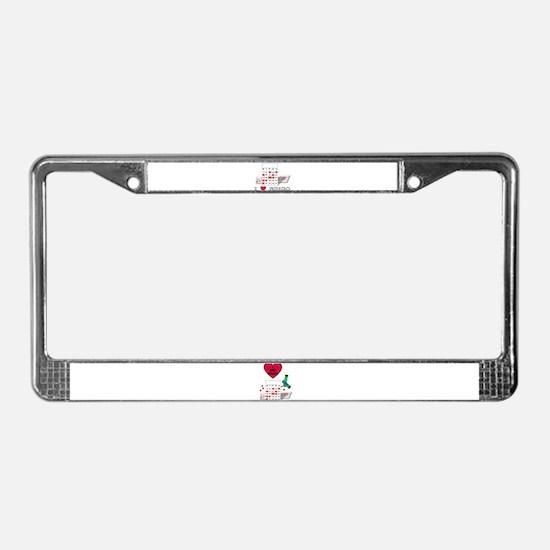 BINGO ON BOTH SIDES License Plate Frame