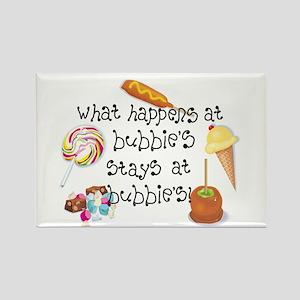 What Happens at Bubbie's... Rectangle Magnet