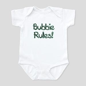 Bubbie Rules! Baby Onesie