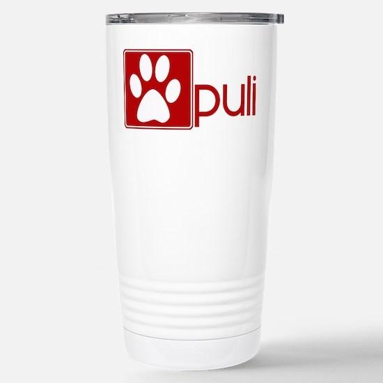 Puli (dog paw red) Mugs