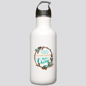 Make a Change Wreath Stainless Water Bottle 1.0L