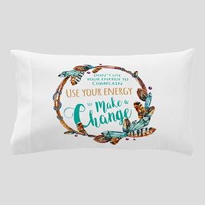 Make a Change Wreath Pillow Case