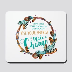 Make a Change Wreath Mousepad